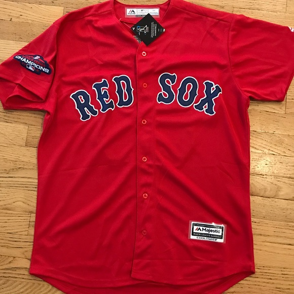 finest selection 812a2 0589b Red Sox Mookie Betts World Series Patch Jersey NWT